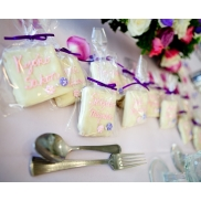 White Chocolate Covered Graham Crackers (Place Cards)